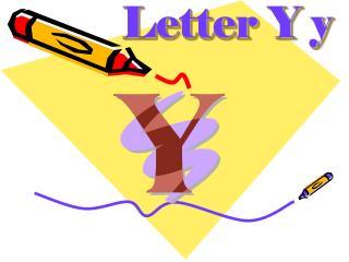 Letter Y y