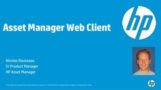 Asset Manager Web Client