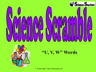 """U, V, W"" Words"