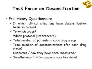 Task Force on Desensitization