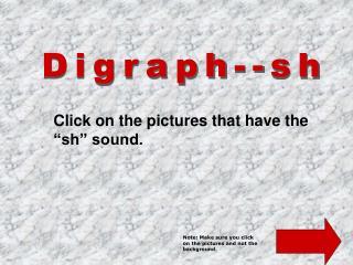 Digraph--sh