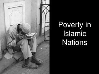 Poverty in Islamic Nations