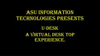 ASU Information Technologies presents
