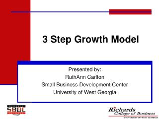 3 Step Growth Model