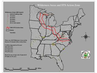 There are 102 Wilderness Areas in the Eastern US ahead of the Action Zone