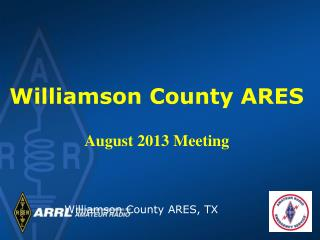 Williamson County ARES, TX