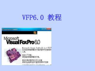 VFP6.0  教程