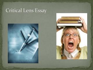 Critical Lens Essay
