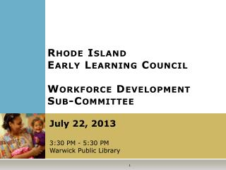 Rhode Island Early Learning Council