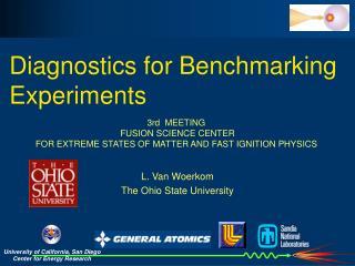 Diagnostics for Benchmarking Experiments