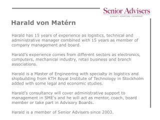 Harald von Mat�rn