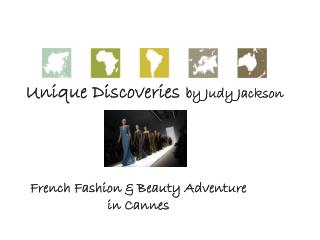 Unique Discoveries	 by Judy Jackson