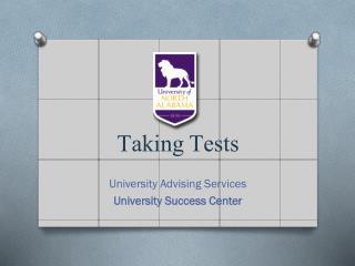 Taking Tests