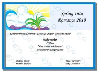 Spring Into Romance 2010
