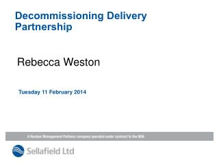 Decommissioning Delivery Partnership