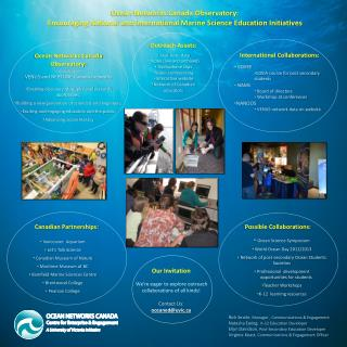 Ocean Networks Canada Observatory: