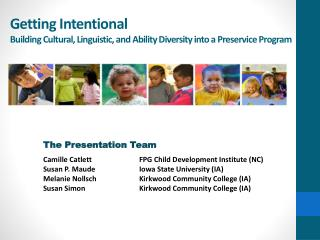 Getting Intentional Building Cultural, Linguistic, and Ability Diversity into a Preservice Program
