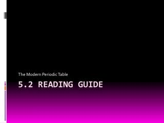 5.2  Reading Guide