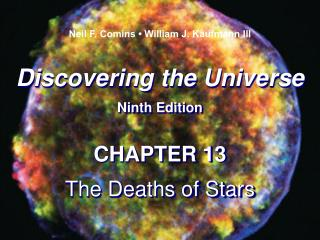 Discovering the Universe Ninth Edition