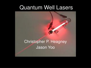 Quantum Well Lasers