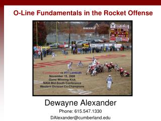 O-Line Fundamentals in the Rocket Offense