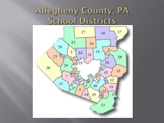 Allegheny County, PA  School Districts