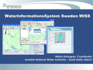 WaterInformationsSystem Sweden WISS