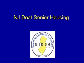 NJ Deaf Senior Housing
