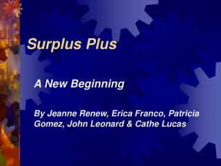 Surplus Plus