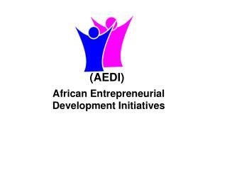 African Entrepreneurial Development Initiatives