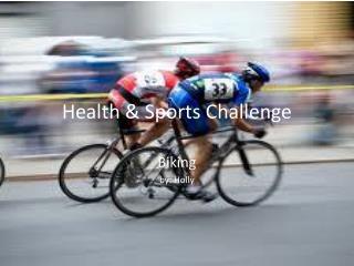 Health & Sports Challenge