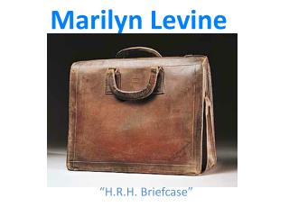 Marilyn Levine