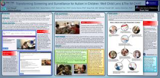 Transforming Screening and Surveillance for Autism in Children:  Well  Child Lens &The  iM-CHAT