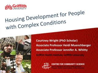 Housing Development for People with Complex Conditions