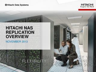 Hitachi  NAS replication  overview