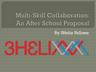 Multi-Skill Collaboration:  An After School Proposal