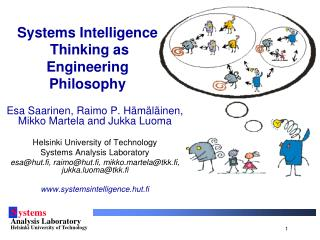 Systems Intelligence  Thinking as Engineering Philosophy
