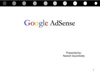 G o o g l e AdSense