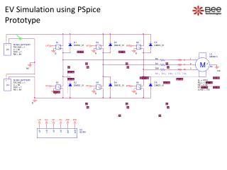 EV Simulation using  PSpice Prototype