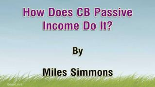 ppt 33646 How Does CB Passive Income Do It