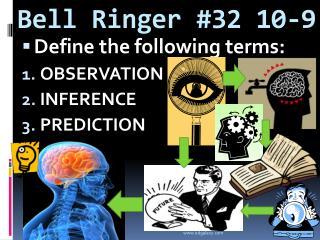 Bell Ringer #32 10-9