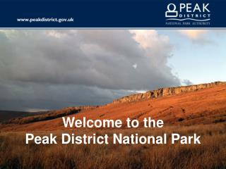UK - Peak District National Parks