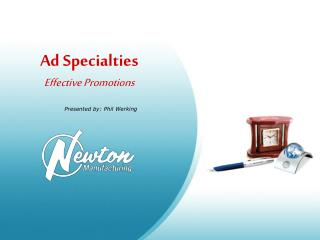 Ad Specialties Effective Promotions