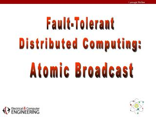 Distributed Computing: