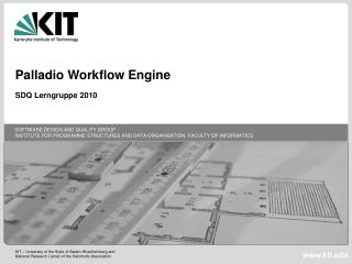 Palladio Workflow Engine