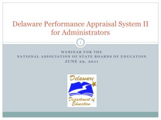 Delaware Performance Appraisal System II for Administrators