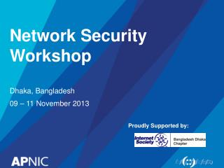 Network Security Workshop
