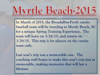Myrtle Beach-2015