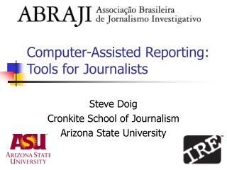 Computer-Assisted Reporting: Tools for Journalists