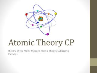 Atomic Theory CP